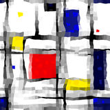 Like Mondrian Royalty Free Stock Images