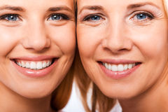 Like mother like daughter. Royalty Free Stock Photo
