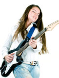 Like a rock star Royalty Free Stock Photography