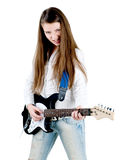 Like a rock star Royalty Free Stock Image