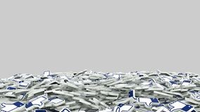 Like Social Media Network Animation Matte Alpha channel vector illustration