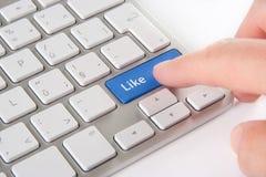 Like - social network Royalty Free Stock Image