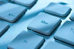 Like - social network Stock Photography