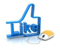 Like symbol Stock Photography