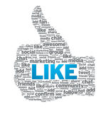 Like - Thumb Up Stock Images