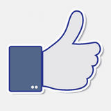 Like it, thumb up icon Royalty Free Stock Images