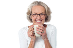 Like to join me for a cup of coffee? Stock Photo