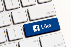 Like us button Royalty Free Stock Photos