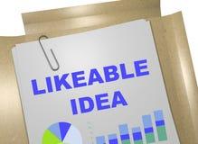 Likeable Idea concept Stock Photos