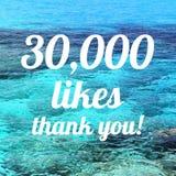 30000 likes