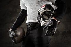 Likformig för amerikansk fotboll Fotografering för Bildbyråer