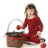 Liking Christmas Bulbs Stock Photo