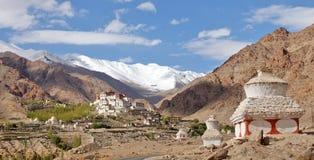 Likir Buddhist Monastery (Gompa) Stock Images
