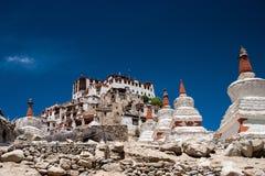Likir monastary in Ladakh Fotografia Stock Libera da Diritti