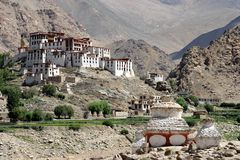 Likir Monastery Royalty Free Stock Images