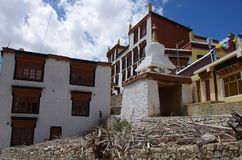 Likir monastery in Ladakh, India Stock Image