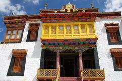 Likir monastery in Ladakh, India Royalty Free Stock Photo