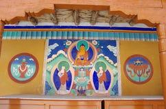 Likir monastery in Ladakh, India Royalty Free Stock Photos