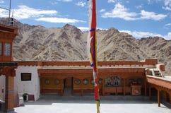 The Likir monastery in Ladakh, India Royalty Free Stock Photos