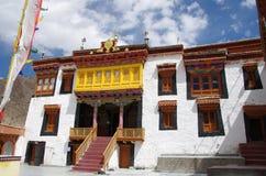 The Likir monastery in Ladakh, India Stock Image