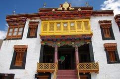 The Likir monastery in Ladakh, India Royalty Free Stock Photo