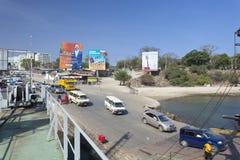 Likoniveerboot in Mombasa, Kenia, redactie royalty-vrije stock afbeeldingen