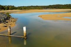 likwidacja rzeki Fotografia Royalty Free