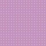 Lilás com teste padrão de pontos branco Imagem de Stock Royalty Free
