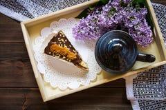 Lilás e chá Imagens de Stock Royalty Free