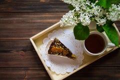 Lilás e chá Imagem de Stock
