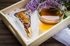 Lilás e chá Foto de Stock