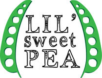 Lil Sweet Pea Stock Photography