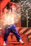 Lil Wayne esegue di concerto fotografia stock