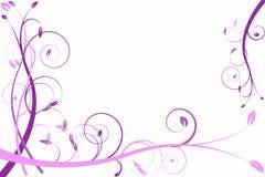 Lila Blumenabstraktion, Muster Lizenzfreies Stockfoto