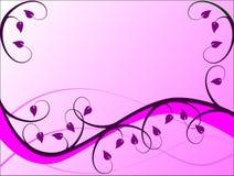Lila Blumenhintergrund Stockbilder