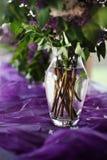 Lila dekoracja Zdjęcie Royalty Free