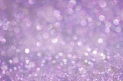 Lila Glow glitter background. Elegant abstract background with bokeh Stock Photos