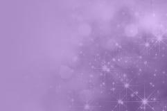 Lila purpurfärgad stjärna Fade Background vektor illustrationer