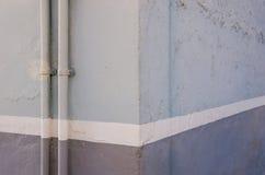 Lila Straßenecke stockfotos