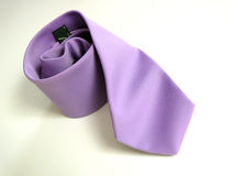Lila tie Stock Photo