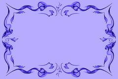 Lilac abstract color frame Royalty Free Stock Image