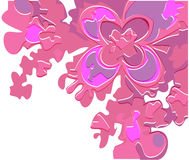 Lilac Abstract flower Royalty Free Stock Images