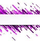 Lilac abstracte achtergrond op wit Stock Afbeeldingen