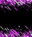 Lilac abstracte achtergrond op zwarte Royalty-vrije Stock Afbeelding