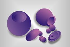 Lilac abstractie Royalty-vrije Stock Foto