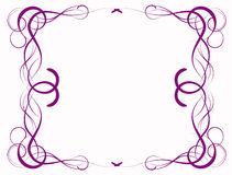 Lilac abstraction Stock Photography