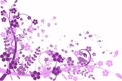 Lilac abstraction, pattern Stock Image