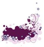 Lilac abstrato ilustração royalty free