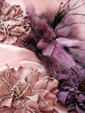 Lilac accessories royalty free stock photography