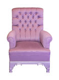 Lilac armchair Royalty Free Stock Photo